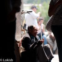 church beggar by SantiBilly