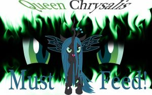 Queen Chrysalis Wallpaper by Macgrubor