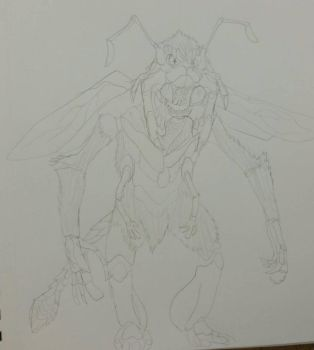 (Character Redesign) Baikinman by SCP-811Hatena