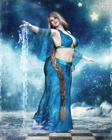 The Elegance of AquaPura by RavenMoonDesigns