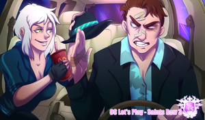 Saints Row 3 - Lets Play twitch splash by Bhryn