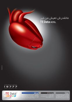 TE Data 'You can't live' by msalah