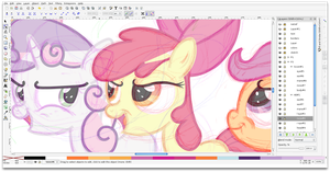 WIP Comic Screenshot by DaringDashie
