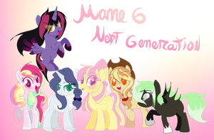 (old) Mane6 next generation (1/2) by karsisMF97