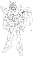 Mecha Sketch by MrDraftsman