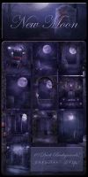 New Moon backgrounds by moonchild-ljilja
