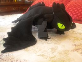 Not Another Toothless Plushie by Monster-House-Fan92