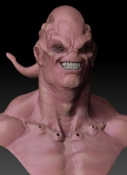 Super Buu WIP by mx