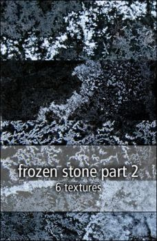 frozen stone textures part2 by rainbows-stock