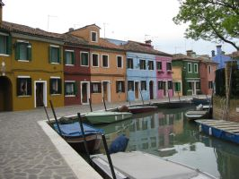 wonderful colors of Burano by BlueAngel271183