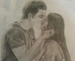 Stefan and Elena - The Vampire Diaries by Daphneexx96