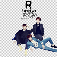 REBLUEs PNG SuJu Set 02 3P by l0vehcl
