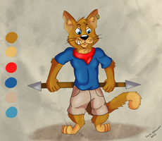 Pirate cat concept by theKatandtheBox