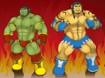 [COMMISSION] WRESTLING ORCS by rhimes1999