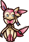 Sylveon Journal Top Animated by AbyssinChaos