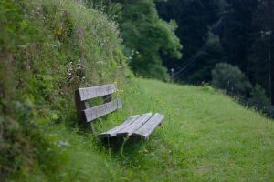 Lonely Bench by ninaheather
