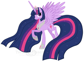 Full Fledged Princess Twilight Sparkle by TwiilightEssence