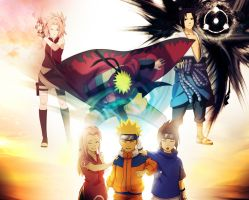 Team 7 of The Hidden Leaf by Drawing-Me-Closer