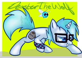 My oc ((MADE BY THE AWESOME EASTYBUG)) by DexsterTheWolf