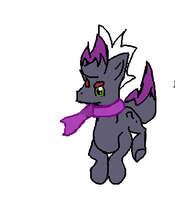 OOOOOOOOOOOOOOOLD OC Beta Pony Zorua Thing by Kevfin