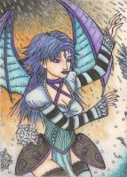 Freezing Rain - Mysticaya (ACEO) by Keyshe54