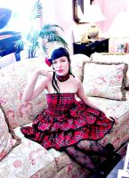 Lady in the Parlor by Lovelyrosevampress