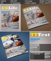 Magazine Templates | Cover Design by abdelrahman