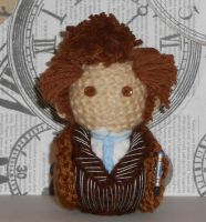 10th Doctor Amigurumi by Craftigurumi