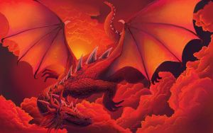 Red Dragon by MaryZho
