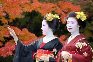 Autumn Maiko by funnymonkey4ever