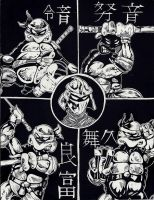 TMNT Prime Scratchboard by TMNT1984