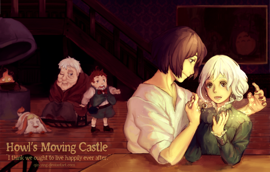 Howl's Moving Castle: Happily Ever After (+Speedpt by Qin-Ying