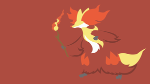 Delphox by DashingHero