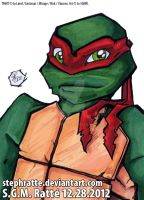 TMNT - :Raph Bust: by StephRatte