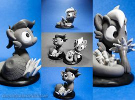 Shoo Be do! shoop. shoop. Be do~ by dustysculptures