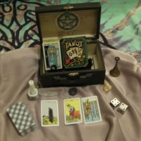 Travel Altar/ Fortune Telling kit by xxStolen-soulsxx