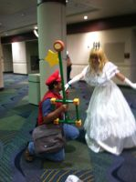 Megacon 2012: Found the Princess AT LAST! by D-warrior35