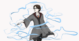 Harry from Harry Potter by ilsoluin