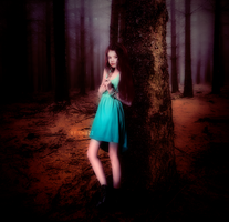 Renesmee in the Forest by ChuzzMaestose