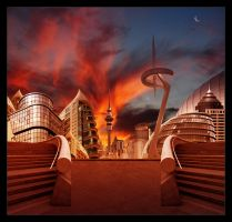 Cities of the future XVII by Funerium