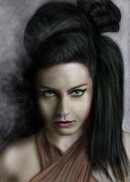 Amy Lee (Evanescence) by AndreCronos