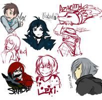 AATR3: Sketches at the Ready by Past-Chaser