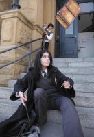 Messing with Snape by ZexionConvertedSaix