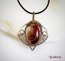 Flame Scarab by Nemhiria