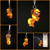 Applejack Charm by minnichi
