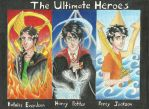 The Ultimate Heroes by ElvenWarrior14