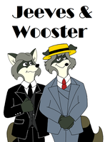 Jeeves and Wooster (The Raccoons) by Goldyfox