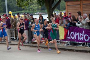 London Olympics Women's Triathlon by LJNPhotography
