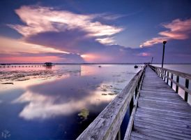 Into The Setting Sun by NC-Photography