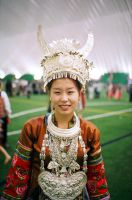 Hmong Woman by adriftphotography